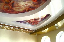 многоуровневый потолок могилев фото